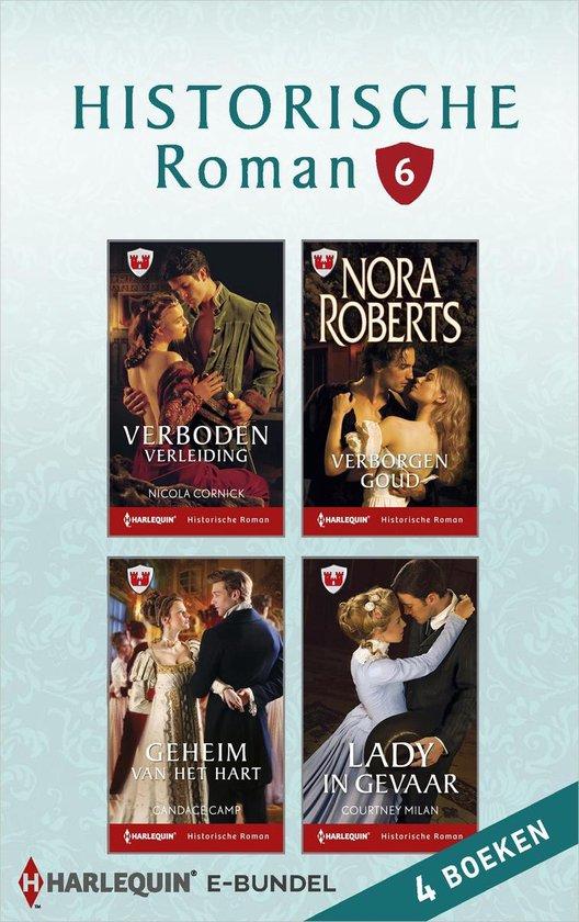 Harlequin- Historische roman e-bundel 6 (4-in-1) - Nicola Cornick  