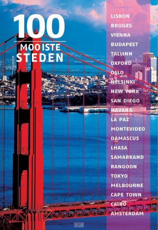 Cover van het boek '100 Mooiste steden van de wereld' van Winfried Maass