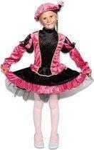Pieten pak - jurkje met petticoat roze (mt 128)