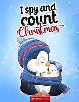 I spy and count - Christmas - I spy book for kids