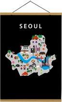 Kaart van Seoul   B2 poster   50x70 cm   Maison Maps