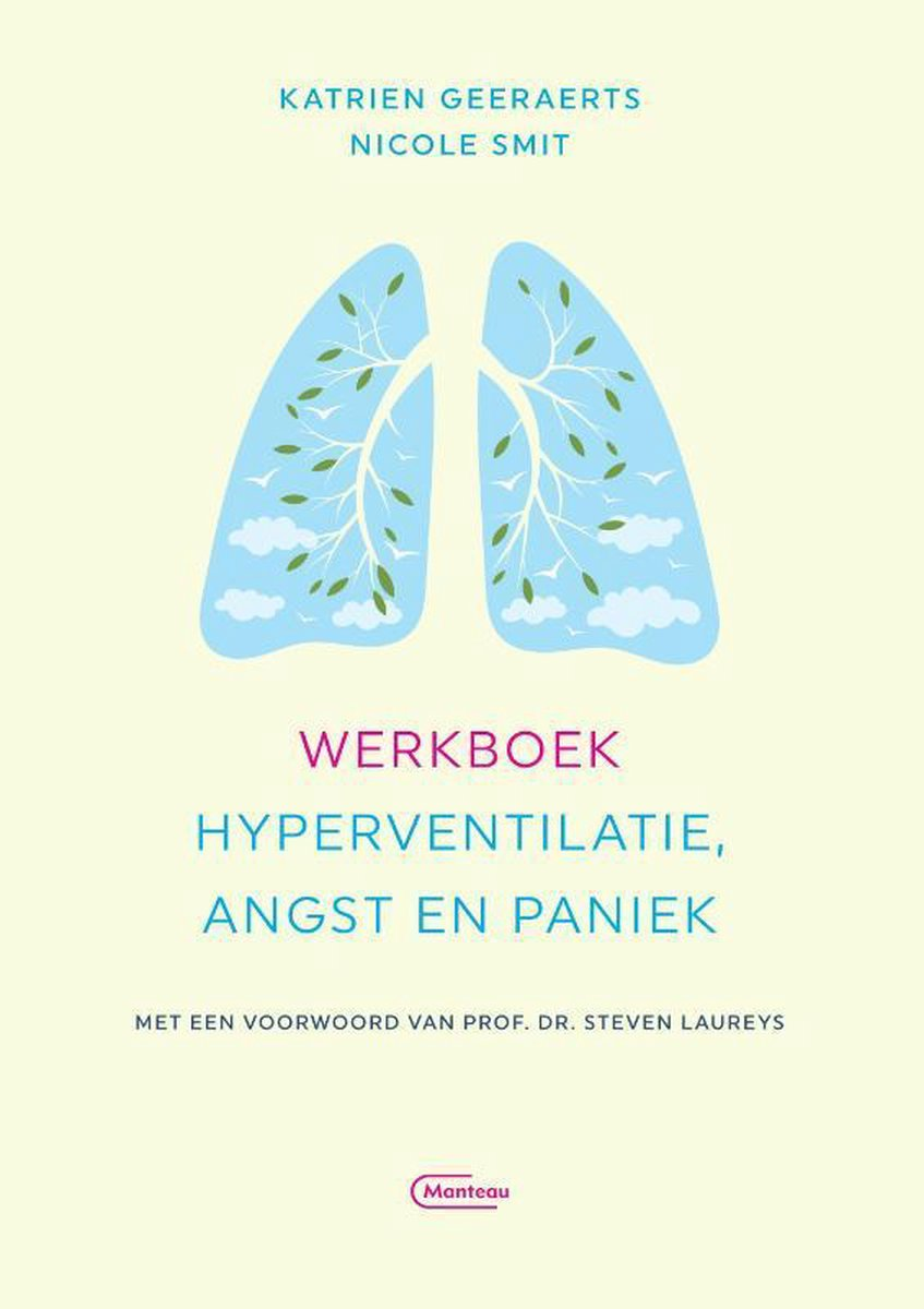Werkboek hyperventilatie, angst en paniek