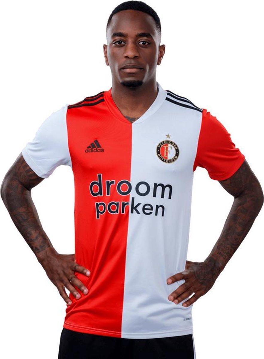 Feyenoord Shirt Thuis 2020-2021 Heren - Rood/Wit - Maat XL