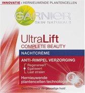 Garnier Skin Naturals UltraLift Nachtcrème - 50ml - Anti Rimpel