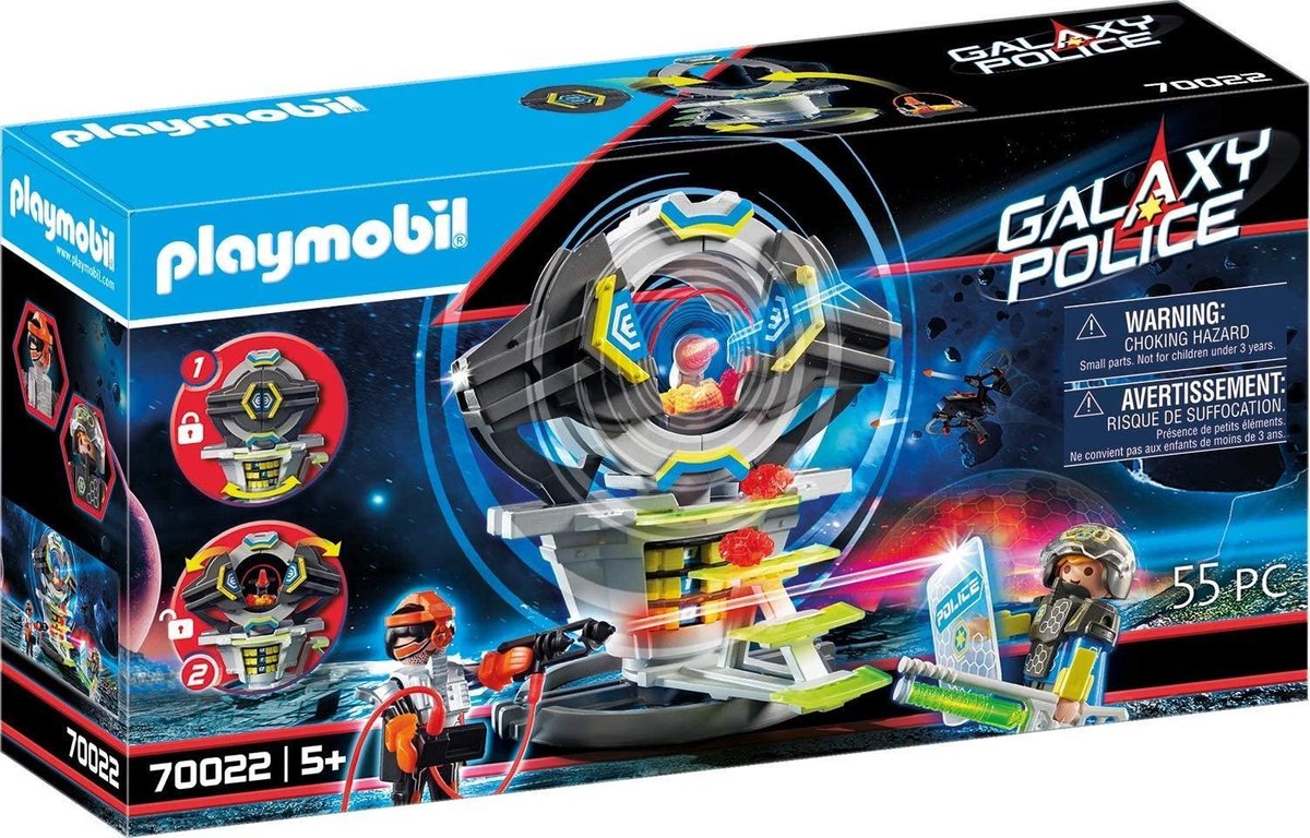 PLAYMOBIL Galaxy Police Kluis met geheime code - 70022
