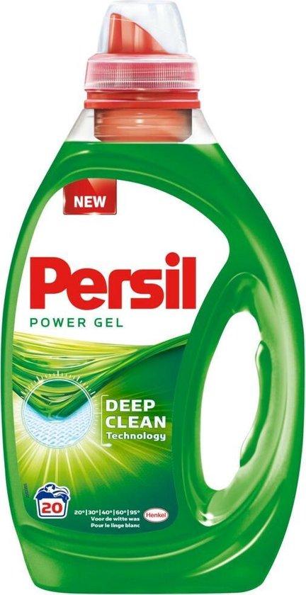 Persil Power Gel Vloeibaar Wasmiddel - Witte Was - 20 wasbeurten
