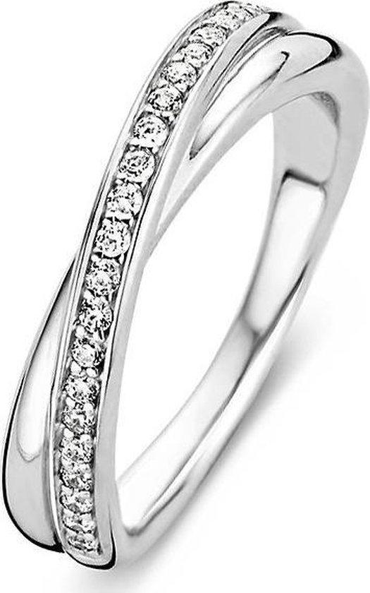 TI SENTO Milano Ring 1953ZI - Maat 54 (17,25 mm) - Gerhodineerd Sterling Zilver - TI SENTO - Milano