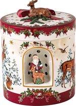 Villeroy & Boch Christmas Toys Muziekdoos Waxinelichthouder Kerstman 21 cm