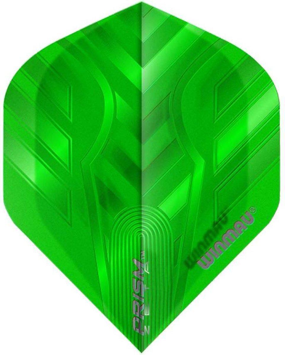 Winmau Prism Zeta dart flight groen