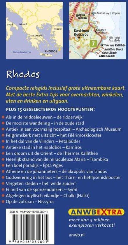 ANWB extra  -   Rhodos - Hans E. Latzke