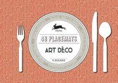 Art Deco - Paper Placemat Pad