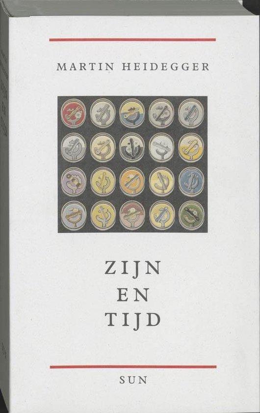 Boek cover Zijn en tijd van M. Heidegger