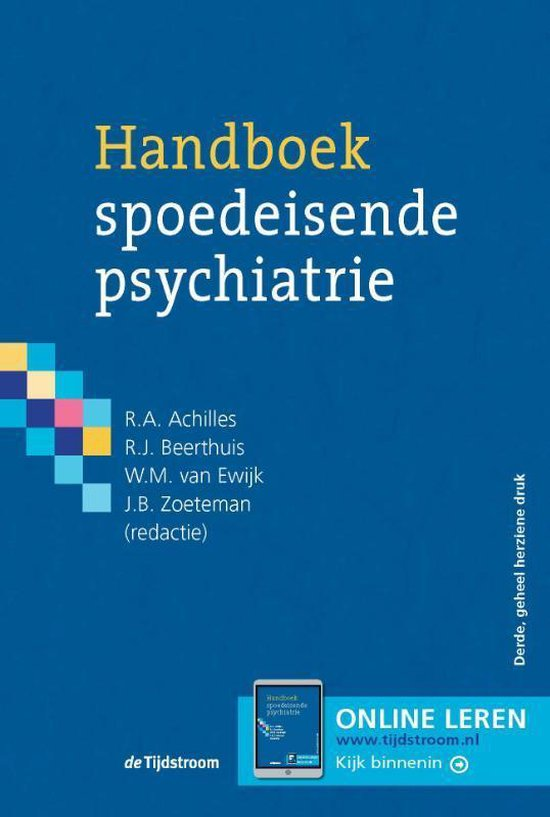 Handboek spoedeisende psychiatrie
