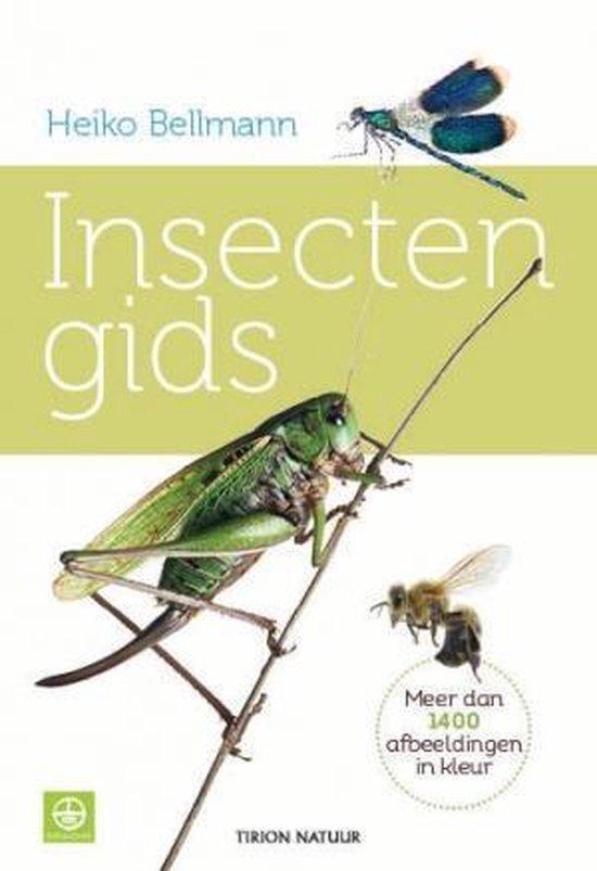 Boek cover Insectengids van Heiko Bellmann