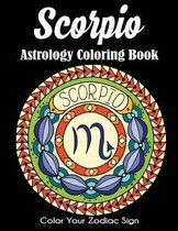 Scorpio Astrology Coloring Book