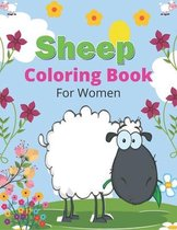 SHEEP Coloring Book For Women