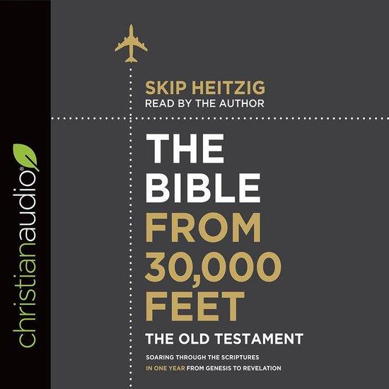 Boek cover Bible from 30,000 Feet: The Old Testament van Skip Heitzig (Onbekend)