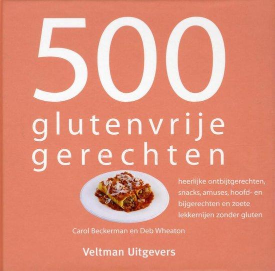 Boek cover 500 glutenvrije gerechten van Carol Beckerman (Hardcover)