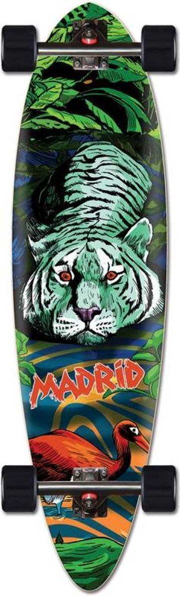 Madrid Blunt Tiger 36 longboard