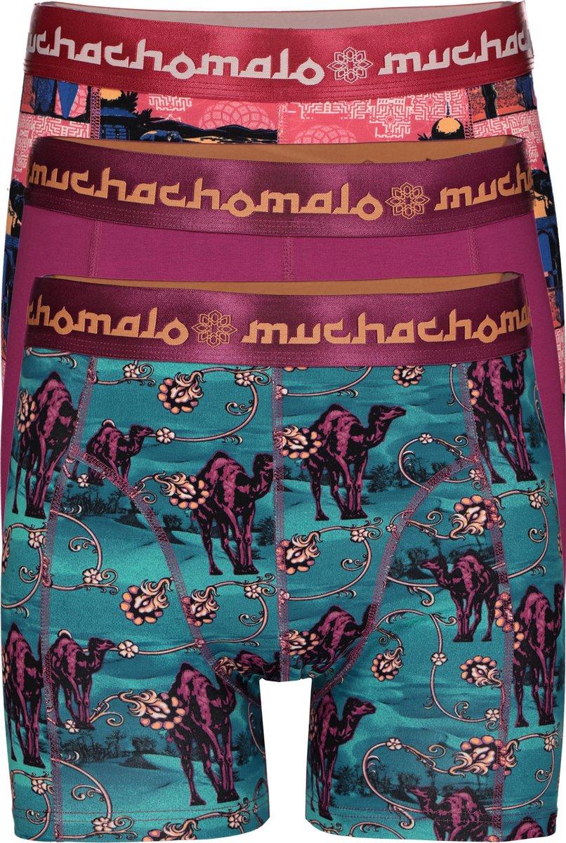 Muchachomalo boxershorts 3-pack - Arabic beauty -  Maat: S