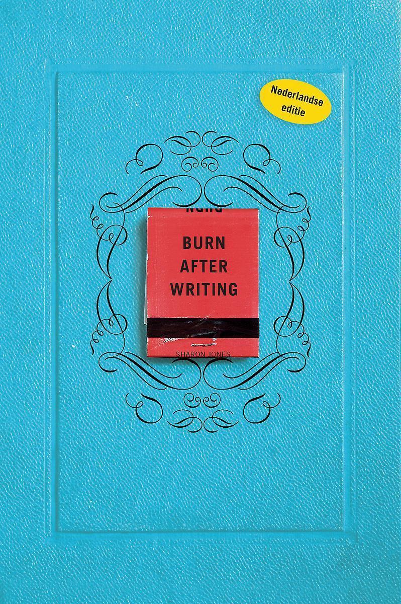 Burn after writing - blauw - Sharon Jones