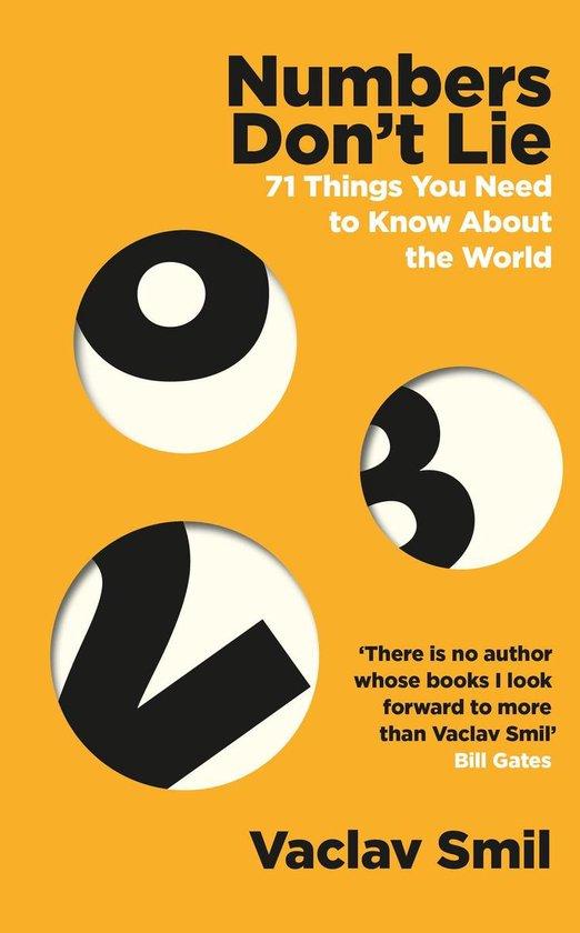 Boek cover Numbers Dont Lie van Vaclav Smil (Onbekend)