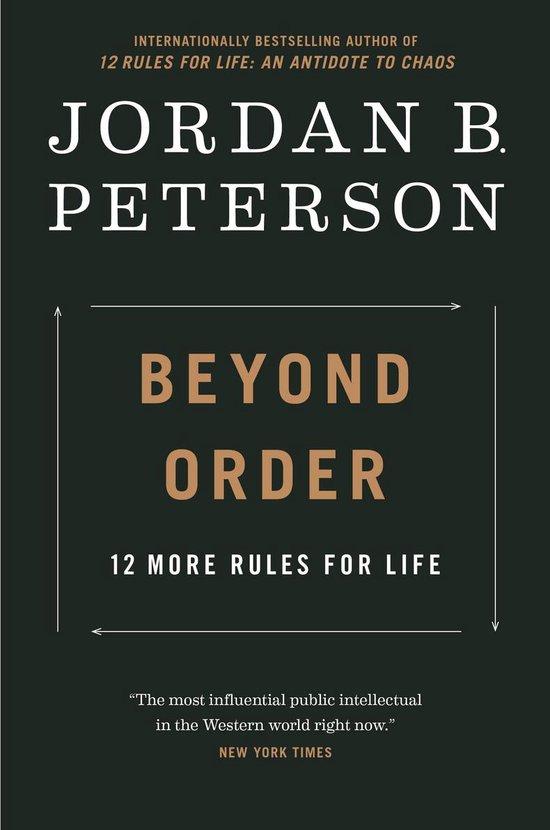 Boek cover Beyond Order van Jordan B. Peterson (Onbekend)