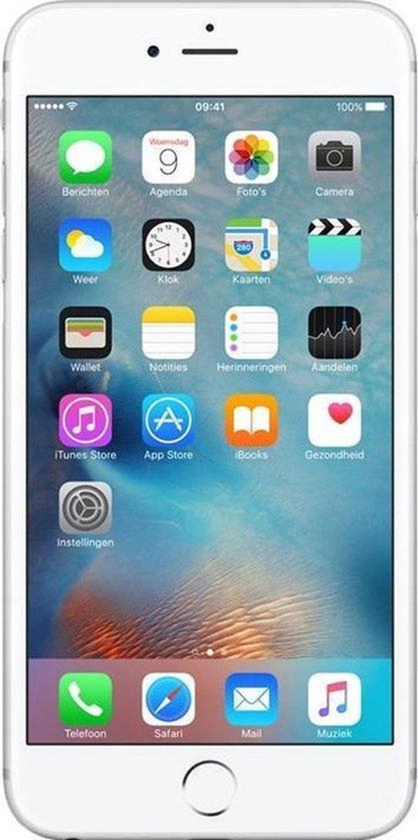 Apple iPhone 6s - Refurbished door Mr.@ - B grade (Zichtbare gebruikssporen) - 64GB - Zilver