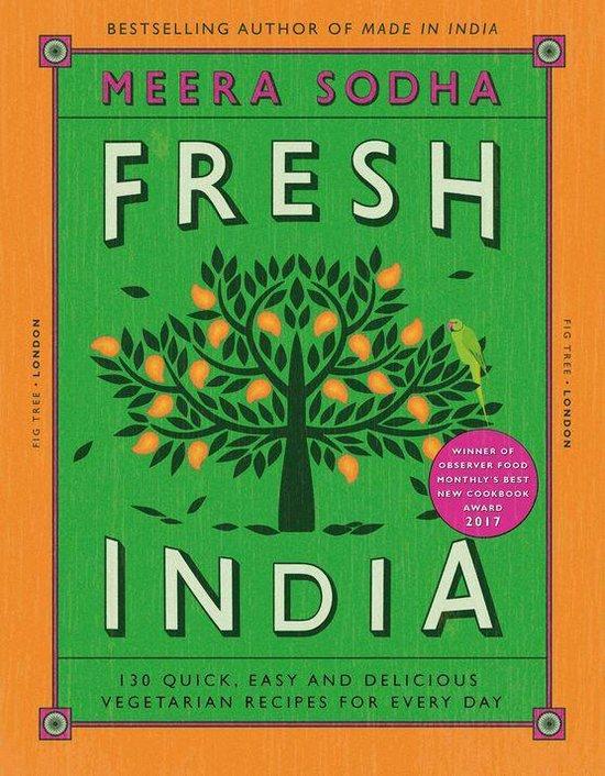 Boek cover Fresh India van Meera Sodha (Onbekend)