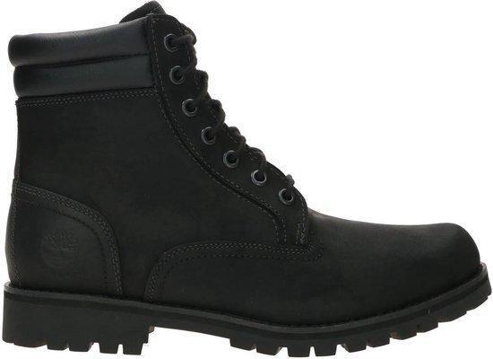 Timberland Foraker 6 Inch WP Heren Veterboots - Black - Maat 41