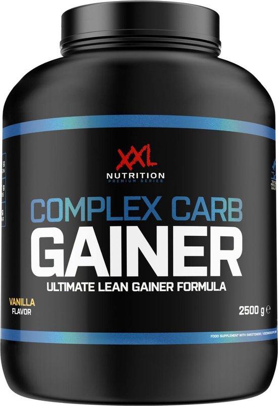 XXL Nutrition Complex Carb Gainer Vanille 2500 gram