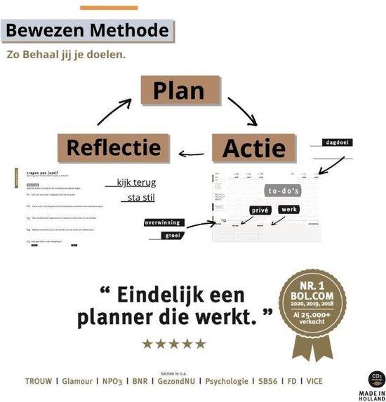 Purpuz Planner 2021 - Agenda 2021 & Lifecoach in één