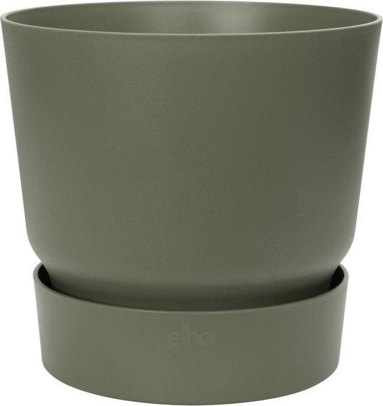 Elho - greenville rond 40cm blad groen