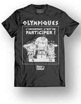 ASTERIX & OBELIX - T-Shirt - Olympiques - Black (XL)