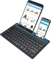 Silvergear Draadloos Toetsenbord met Gleuf voor Smartphone en Tablet  - QWERTY toetsen - Bluetooth
