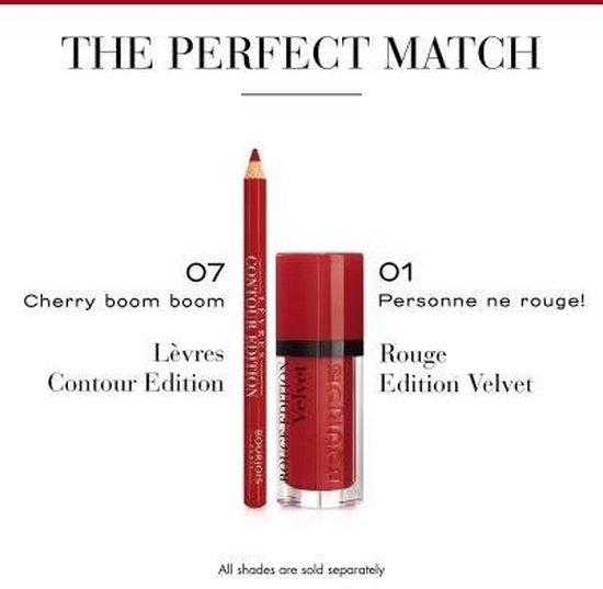 Bourjois Levres Contour Edition New Lippotlood - 07 Cherry Boom Boom