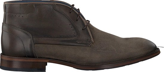 Mazzeltov Heren Nette schoenen Mlorans600.16omo01 - Grijs - Maat 43