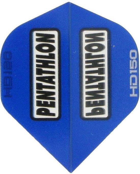 Afbeelding van het spel 5 sets (15 stuks) Pentathlon flights HD 150 Blue