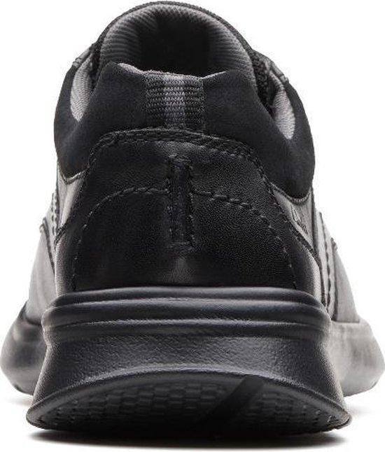 Clarks - Heren schoenen - Cotrell Edge - H - blk smooth lea - maat 10,5