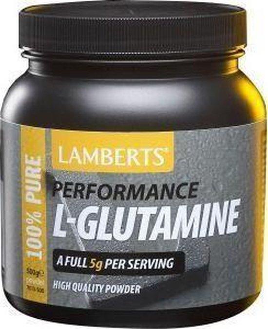 Lamberts L-Glutamine Poeder - 500 gram