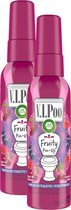 Air Wick VIPoo Fruity Pin-Up Toiletverfrisser - 2 x 55 ml