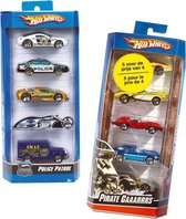 Hot Wheels Cadeauset met 5 Auto's