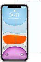 iPhone 11 Screenprotector Gehard Glas Tempered Glass Met Dichte Notch