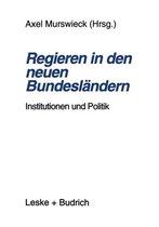 Regieren in Den Neuen Bundesl ndern