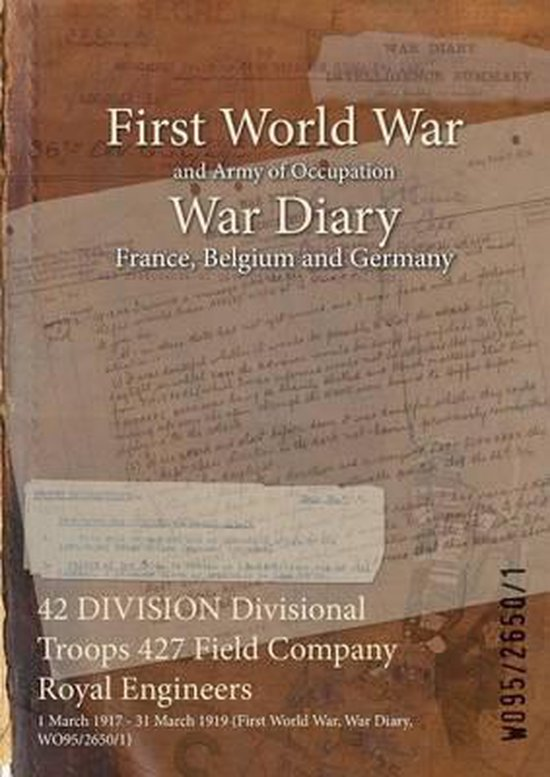 42 Division Divisional Troops 427 Field Company Royal Engineers