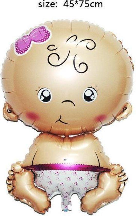 Baby Folie Ballon Roze | Baby Shower|