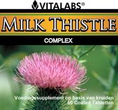 VitaTabs Milk Thistle Complex - 450 mg - 60 tabletten - Voedingssupplementen