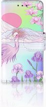 Samsung Galaxy A3 2015 Bookcase Hoesje Bird
