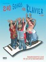 240 Songs für Klavier. Inkl. CD