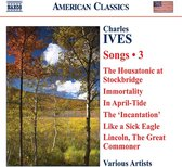 Ives: Songs Vol. 3